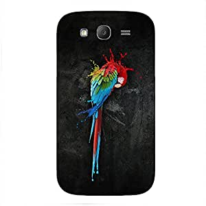 Back cover for Samsung Galaxy Grand Neo Colourful cockatoo