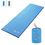 SEMOO Self-Inflating Camping Sleeping Mat/pad, Lightweight, Water Repellent Coating for Hiking&Camping