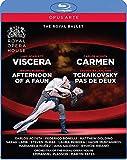 ロイヤルバレエ ヴィサラ/牧神の午後/カルメン/チャイコフスキーのパ・ド・ドゥ[Blu-ray Disc]