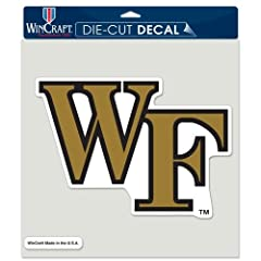 Buy Wake Forest Demon Deacons Official NCAA 8x8 Die Cut Car Decal by WinCraft