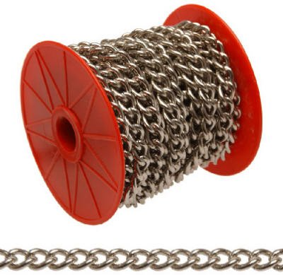 Apex Tools Group 0719027 68-Foot Nickel Twist Chain