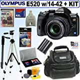 Olympus Evolt E520 10MP Digital SLR Camera with