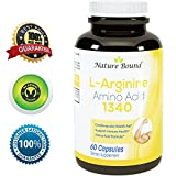 100-Pure-L-arginine-L-Citruline-Premium-Amino-Acids-Strength-for-Pre-work-Out-and-Energy-Enhancement-for-Men-Support-Nitric-Oxide-1000-mg-Per-Capsules-Natural-Supplement-Booster-by-Nature-Bound