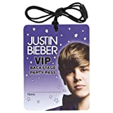 ShindigZ VIP Badge Necklace - Justin Bieber