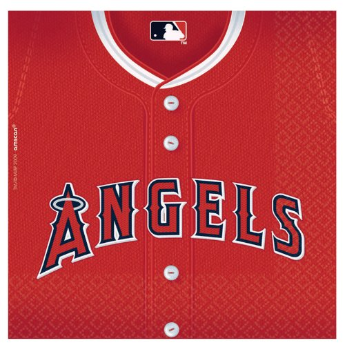 Los Angeles Angels Baseball - Lunch Napkins