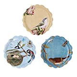 "Paper Plates, Alink 9"" Luncheon Dinner Tea Party Shower Plates, 12 Pack"