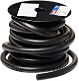 "HBD Thermoid NBR/PVC SAE30R6 Fuel Line Hose, 3/8"" x 25' Length, 0.375"" ID, Black"