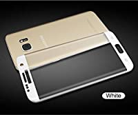 Samsung Galaxy S7 screen protector , WYAO® 3D Curved Full Coverage ,Only 0.3mm 9H Tempered Glass ,High Definition,for Samsung Galaxy S7 (White) by A+++ E-DIGITAL SHOP
