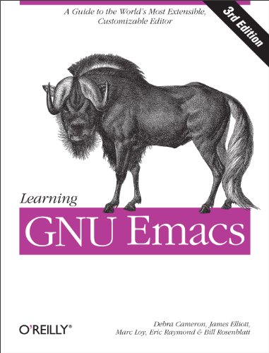 Learning GNU Emacs cover