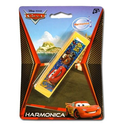 Disney Cars Harmonica on a Blister Card
