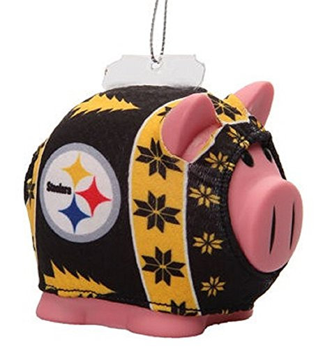Shop Pittsburgh Steelers NFL Ugly Sweater Piggy Bank Christmas ...