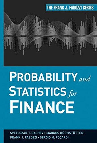 Probability and Statistics (Fabozzi) (Frank J. Fabozzi Series)