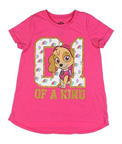 Nickelodeon Girls' Paw Patrol Short Sleeve T-Shirt Shirt