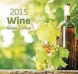 Wine Wall Calendar 2015 -Vino Calendar - Gourmet Calendar - Poster Calendar - Food & Drink Calendar By Helma