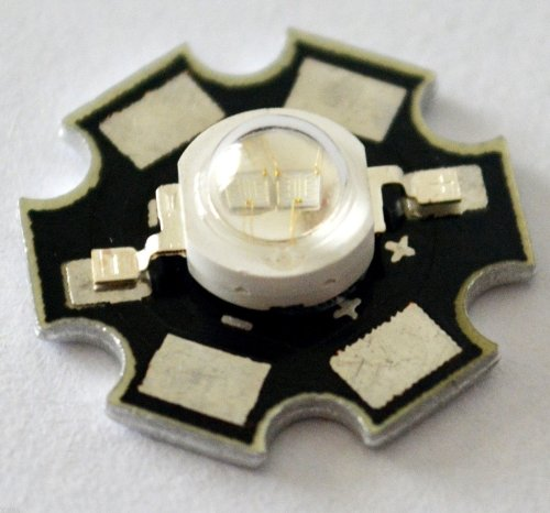 Lots 100Pcs 3W Uv Light Lamp 395-400Nm Purple With Pcb