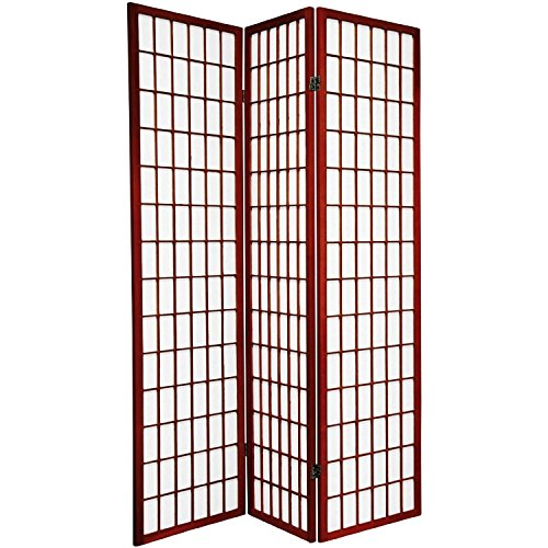 Great Deal! Major-Q Decoration Japanese Oriental Style Room Screen Divider (Cherry-3 Panels)