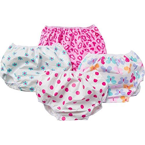 Gerber Waterproof Diaper Training Pant Covers Girls 18M 4 Pack (Gerber Plastic Pants compare prices)