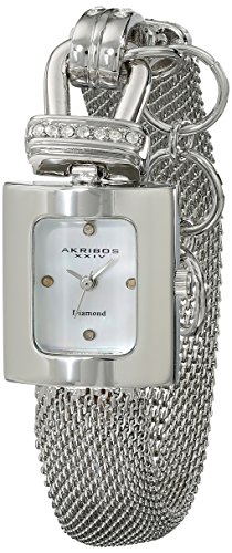 Akribos XXIV AK510SS Metal Case Metal Mineral Women's Watch