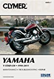 img - for Clymer Yamaha V-Star 650 1998-2011 (Clymer Motorcycle Repair) book / textbook / text book