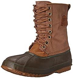 Sorel Men\'s 1964 Premium T CVS Boot, Elk/Surplus Green, 11 M US