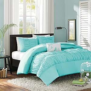 Amazon Com Modern Girls Kids Teen Bedding Aqua Tiffany