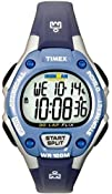 Timex Womens T5K018 Ironman Traditional 30-Lap BlueSilver-Tone