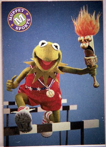 "1993 Cardz - Jim Henson's Muppet Trading Cards - Single Card - Card T3 ""Star Hopper"" - Chase Card - 1"