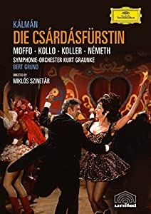 Kalman - Die Csardasfurstin (Grund, Moffo, Kollo) [DVD] [2006]