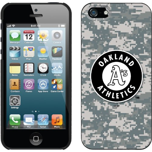 Great Price Oakland Athletics - Digi Camo Athletics design on a Black iPhone 5s / 5 Thinshield Snap-On Case by Coveroo