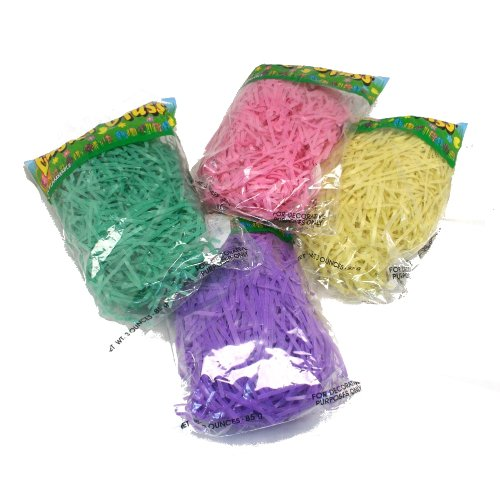 Multicolor Easter Basket Grass 1.5 oz