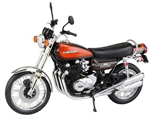 スカイネット 1/12 完成品バイク Kawasaki 900Super4 (Z1) ファイヤーボール