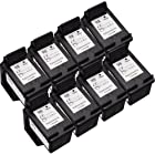 Sophia Global Remanufactured Ink Cartridge Replacement for HP 98 (8 Black)