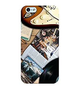 Cute music pattern Back Case Cover for Apple iPhone 6S