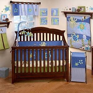Amazon Sea Babies 4 Piece Baby Crib Bedding Set