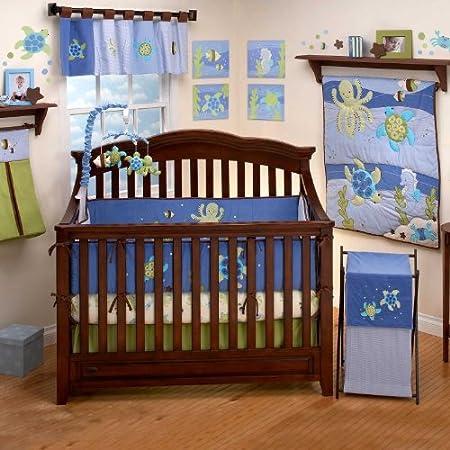 Nojo Sea Babies Crib Bedding