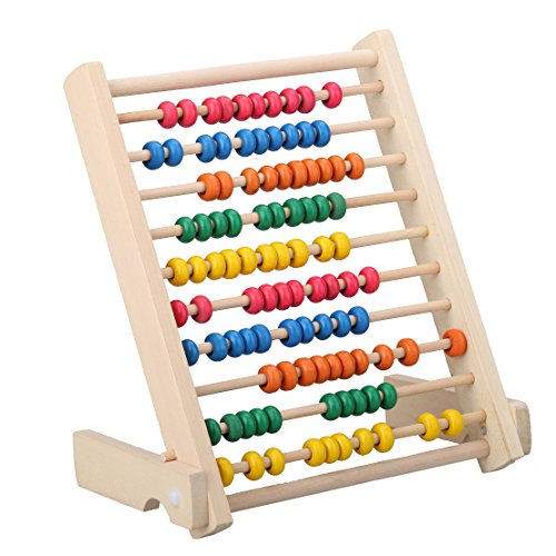 MAGIKON Wooden Counting Number Frame Counting Abacus