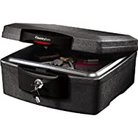 SentrySafe H2300CG Waterproof Fire Chest Lock (Black)
