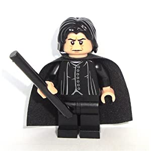 LEGO Harry Potter: Professor Snape Minifigure with Black Wand