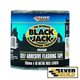 2x Everbuild BLACK JACK FLASHING TRADE Bitumen And Roofing Products Black Jack Flashing - 300MM