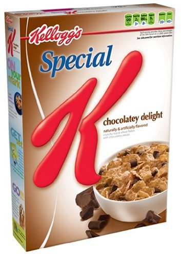 Special K Chocolatey Delight Cereal, 13.4-Ounce Boxes (Pack of 4)