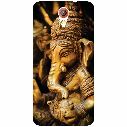 HTC Desire 620G Phone Cover-Ganpati Matte Finish Back Cover