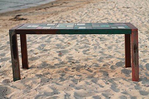 Outflexx Tisch Fishboat, 180 x 90 x 76 cm, mehrfarbig