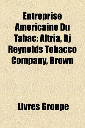 entreprise-amricaine-du-tabac-altria-rj-reynolds-tobacco-company-brown