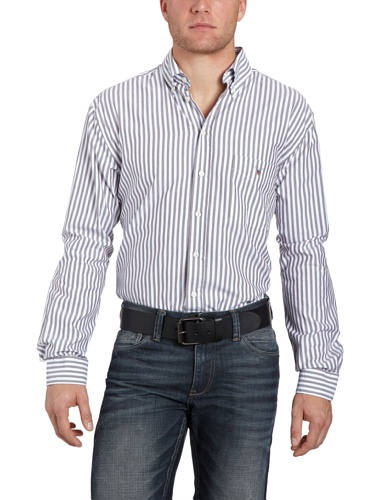 Gant Men's 395680 Casual Shirt Brown (Espresso) 50