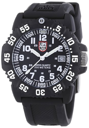 Luminox LU7051 Colormark Black/White Dial Women's Watch