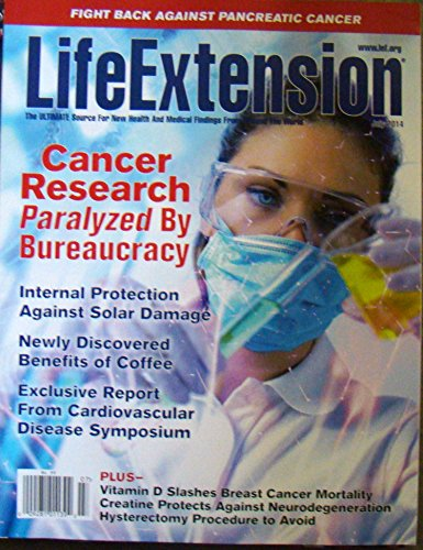 Life Extension Magazine - July 2014 - Cancer Research - Benefits Of Coffee - Vitamin D