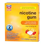 Rite Aid Stop Smoking Gum, 2mg Fruit 100 ea