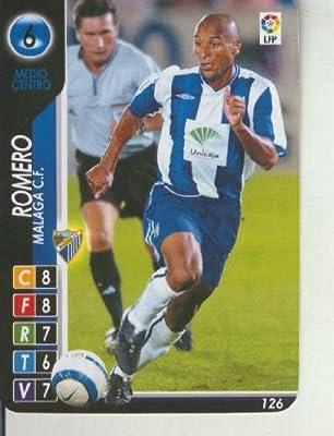 Derby Total 2004-2005: Malaga C.F. numero 06: Romero