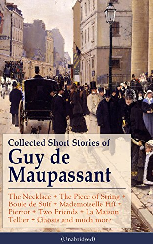 an analysis of two friends the piece of string and the necklace by guy de maupassant Full online text of the necklace by guy de maupassant  two large tears ran slowly from the corners of  they found a string of diamonds which seemed to be.