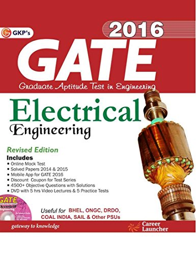 GATE Guide Electrical Engineering 2016 Image